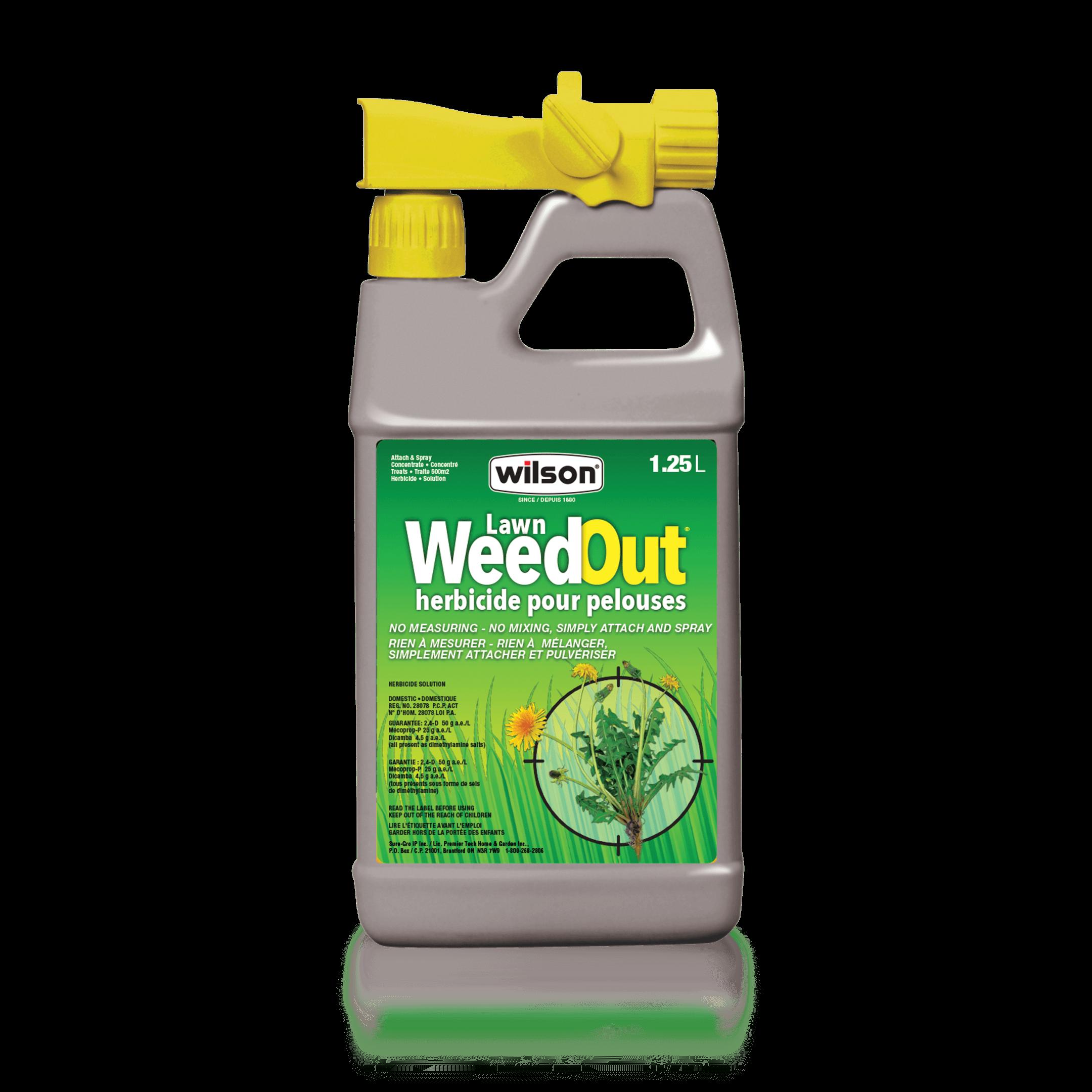 Lawn Weedout Attach Spray
