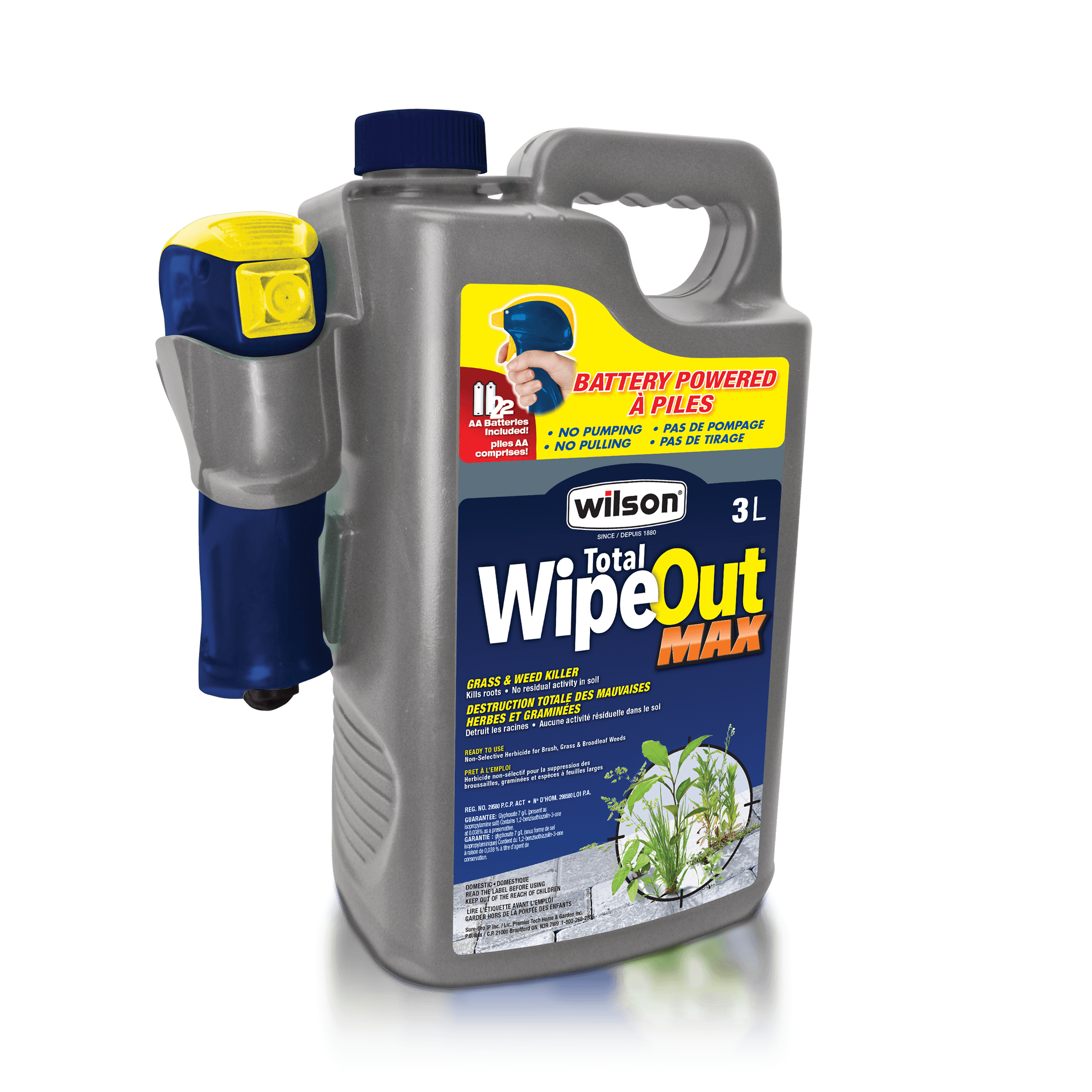 Total WipeOut® Max Battery powered